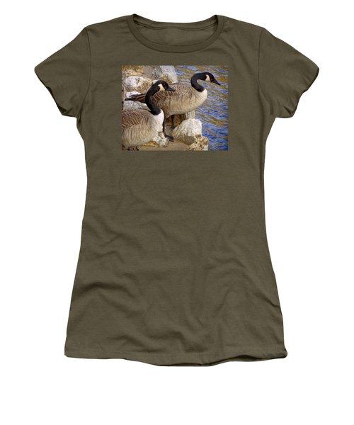 Canada Geese Women's T-Shirt