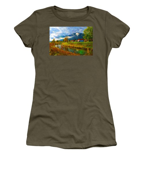 Canal 1 Women's T-Shirt (Athletic Fit)