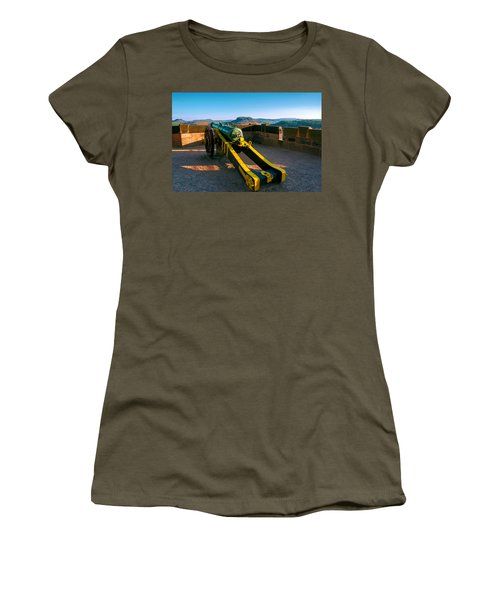 Cannon At The Fortress Koenigstein Women's T-Shirt