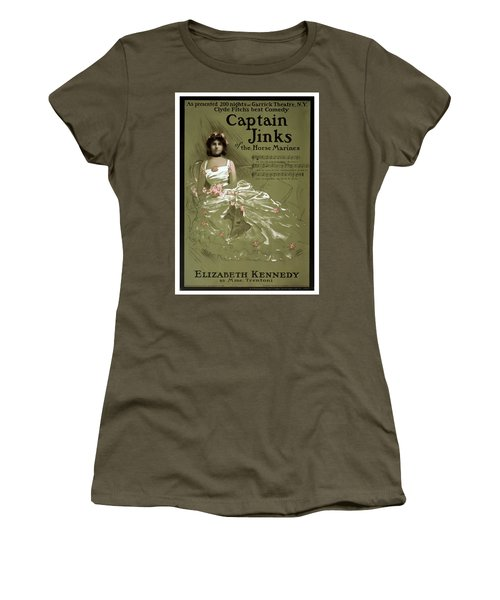 Captain Jinks Women's T-Shirt (Athletic Fit)