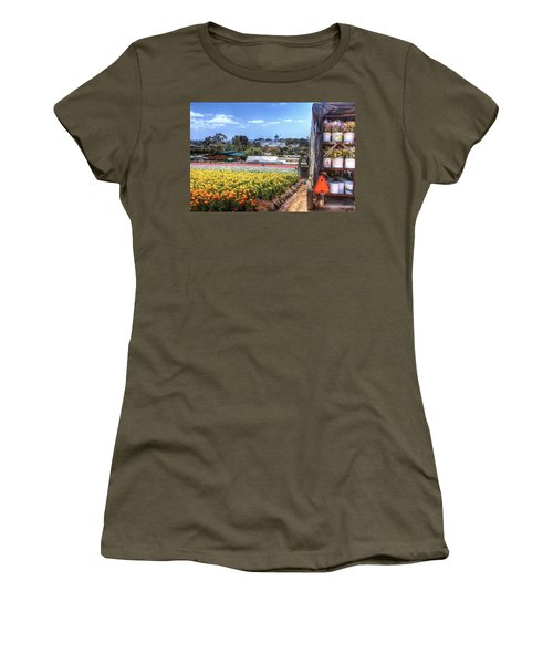 Carlsbad Flower Fields Women's T-Shirt