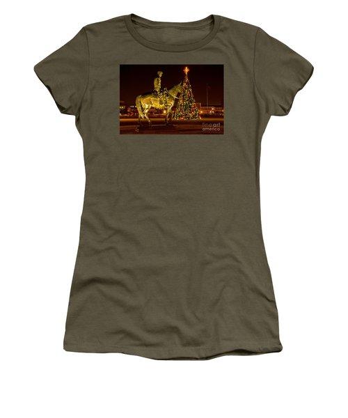 Women's T-Shirt featuring the photograph Carol Of Lights by Mae Wertz