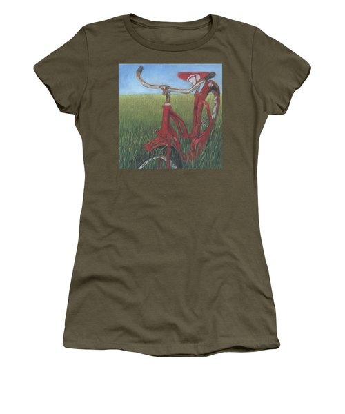 Carole's Bike Women's T-Shirt (Athletic Fit)