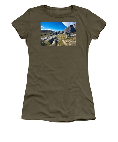 Castle Hill #4 Women's T-Shirt (Junior Cut) by Stuart Litoff