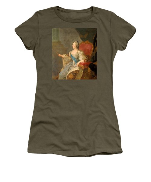 Catherine The Great, 1763 Oil On Canvas Women's T-Shirt