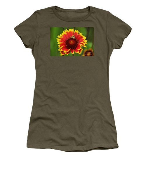 Caught Snacking Women's T-Shirt (Junior Cut) by Kevin Fortier