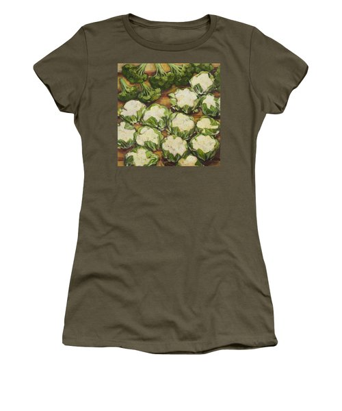 Cauliflower March Women's T-Shirt (Athletic Fit)