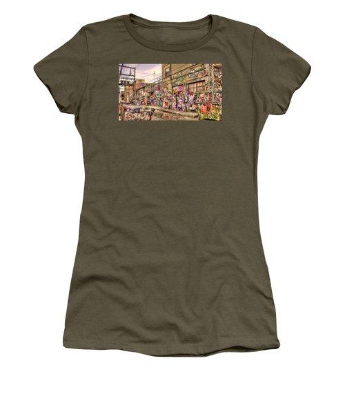 Caution Wet Paint Women's T-Shirt