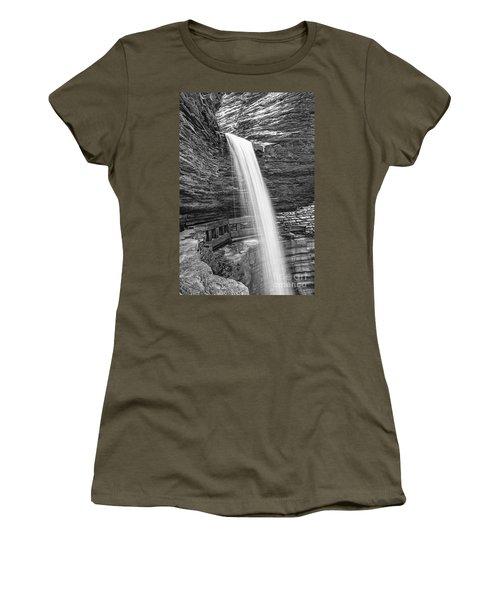 Cavern Cascade Watkins Glen Women's T-Shirt