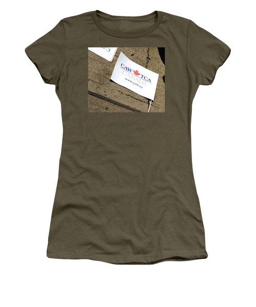 Caw Rtca Flag Women's T-Shirt