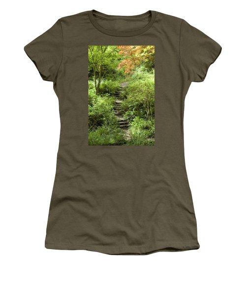 Cefn Onn Women's T-Shirt (Junior Cut) by Jeremy Voisey