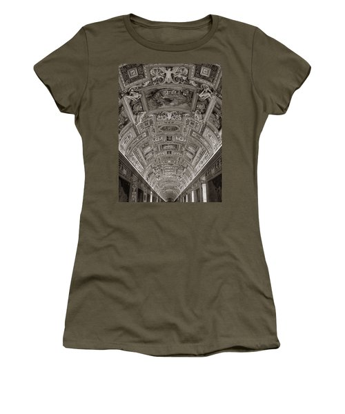 Ceiling Of Hall Of Maps Women's T-Shirt (Athletic Fit)
