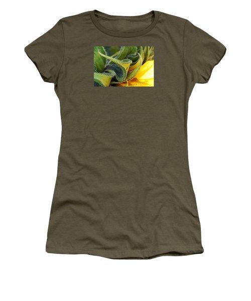 Celebration Sunflower Women's T-Shirt (Junior Cut) by Wendy Wilton