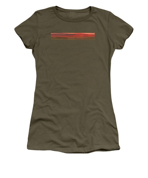 Chambers Island Sunset Women's T-Shirt (Athletic Fit)