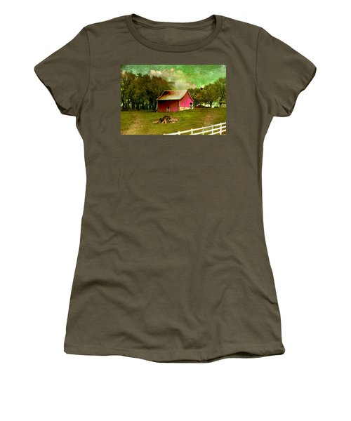 Chartreuse Of Legend Women's T-Shirt (Junior Cut) by Liane Wright