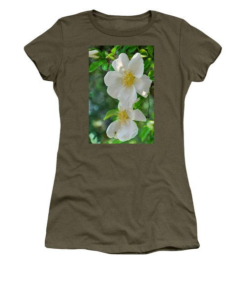 Cherokee Roses Women's T-Shirt (Athletic Fit)