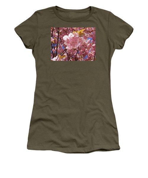 Cherry Trees Blossom Women's T-Shirt