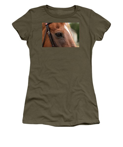 Chestnut Horse Eye Women's T-Shirt