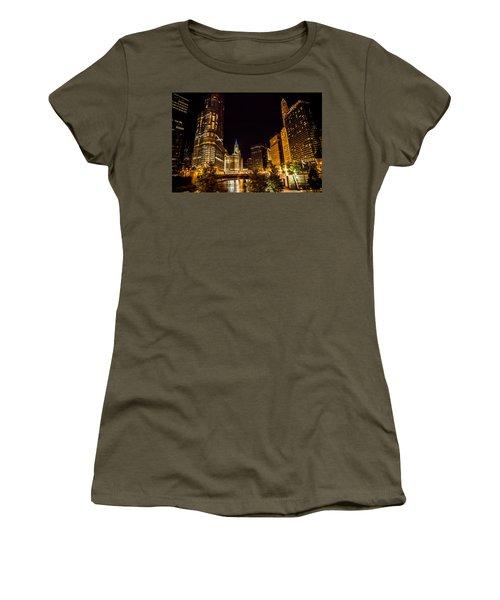 Chicago Riverwalk Women's T-Shirt