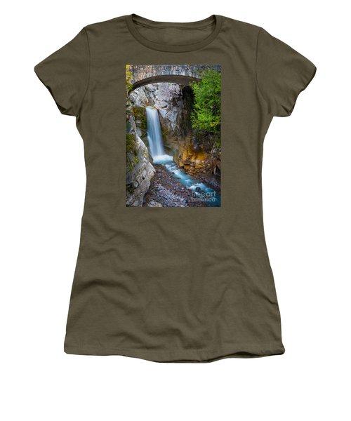 Christine Falls And Bridge Women's T-Shirt