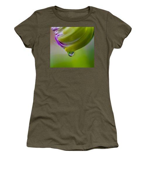 Raindrop Bud Women's T-Shirt