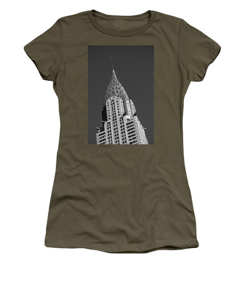Chrysler Building Bw Women's T-Shirt