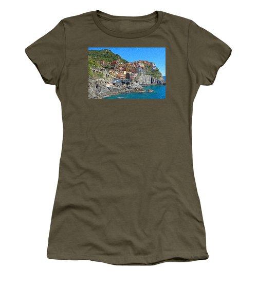 Cinque Terre Itl3403 Women's T-Shirt
