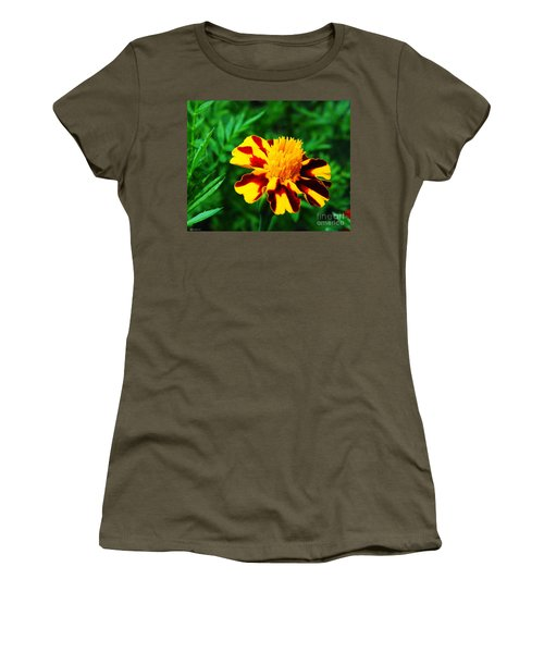 Circus Circus Marigold Women's T-Shirt (Athletic Fit)