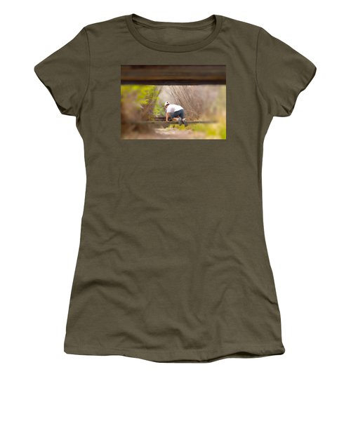 Climb On Over Women's T-Shirt (Athletic Fit)