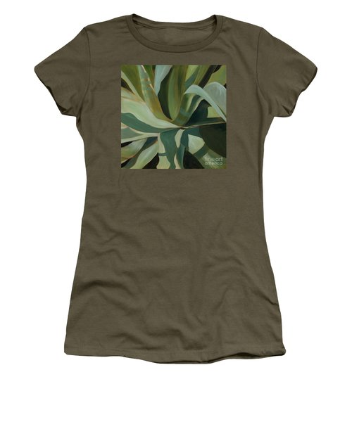 Close Cactus Women's T-Shirt (Athletic Fit)