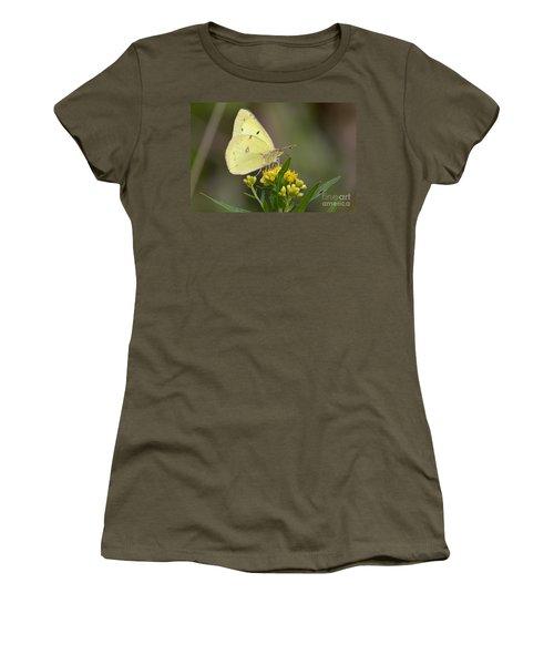 Clouded Sulphur Women's T-Shirt