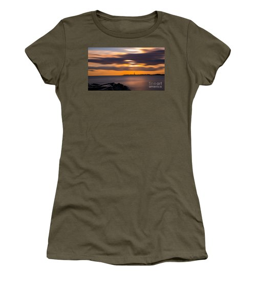 Clouds In Motion At Cape May  Women's T-Shirt
