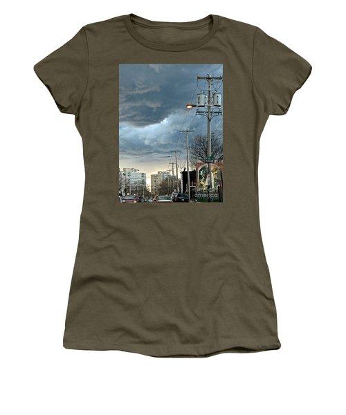 Clouds Over Philadelphia Women's T-Shirt