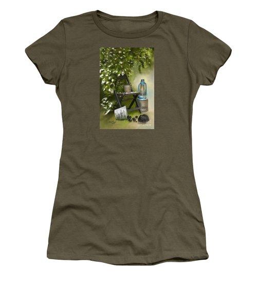 Coal Women's T-Shirt (Junior Cut) by Lena Auxier