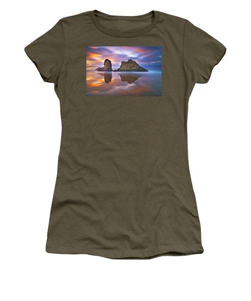 Coastal Cloud Dance Women's T-Shirt (Athletic Fit)