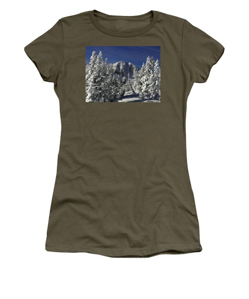 Cody Peak After A Snow Women's T-Shirt
