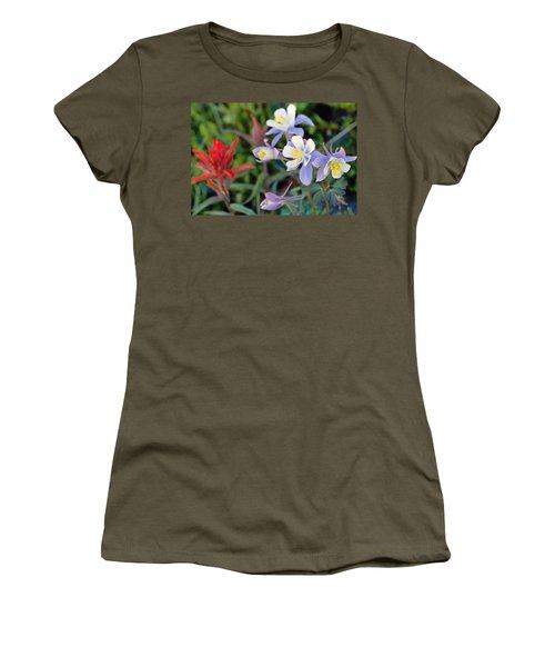 Colorado Blue Columbine Women's T-Shirt