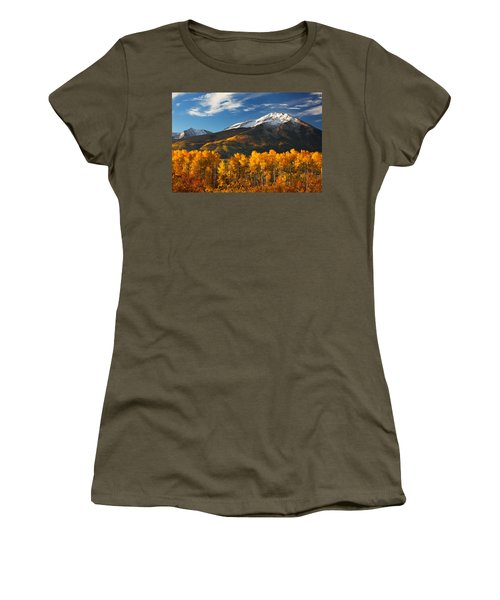 Colorado Gold Women's T-Shirt (Athletic Fit)