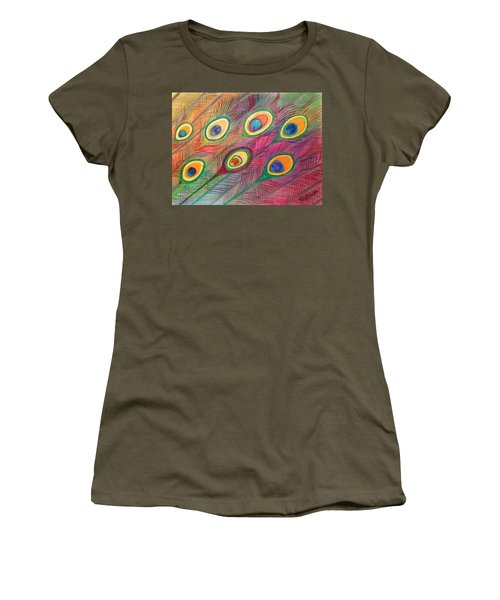 Colorful Delusions Women's T-Shirt (Athletic Fit)