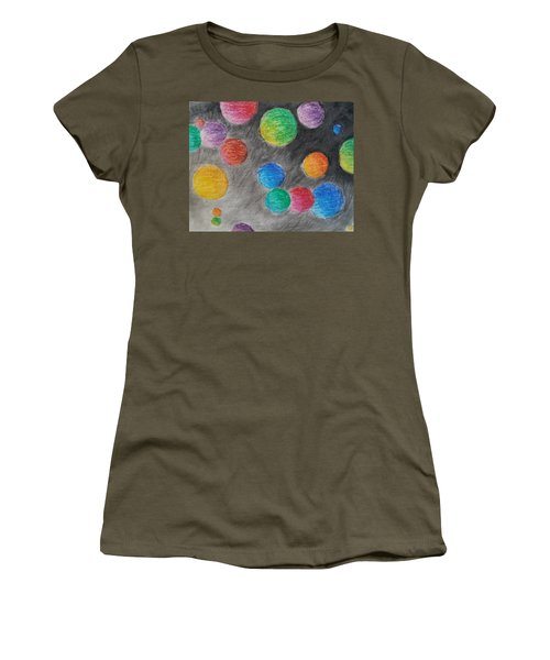 Colorful Orbs Women's T-Shirt
