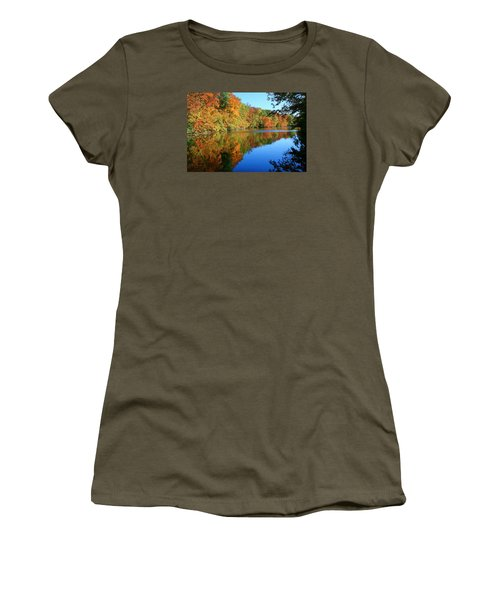 Colors Of Fall Women's T-Shirt (Athletic Fit)