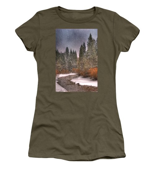 Colours Of Winter Women's T-Shirt
