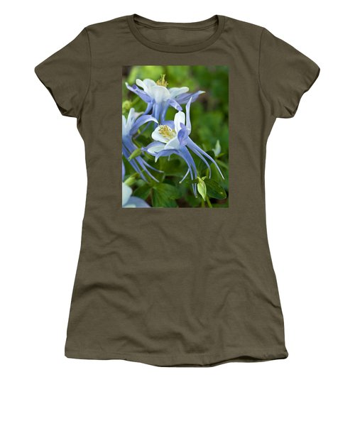 Columbine-2 Women's T-Shirt (Athletic Fit)