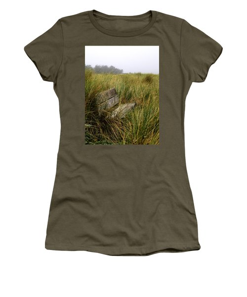 Come Sit And Stay Women's T-Shirt (Athletic Fit)