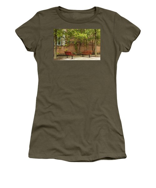 Come Sit With Me Women's T-Shirt (Athletic Fit)
