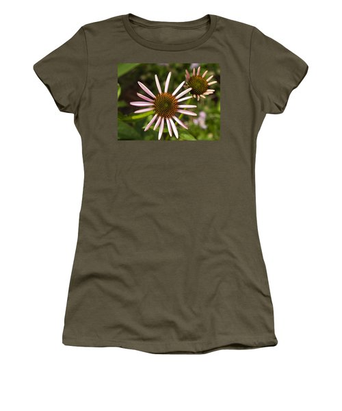 Cone Flower - 1 Women's T-Shirt (Athletic Fit)