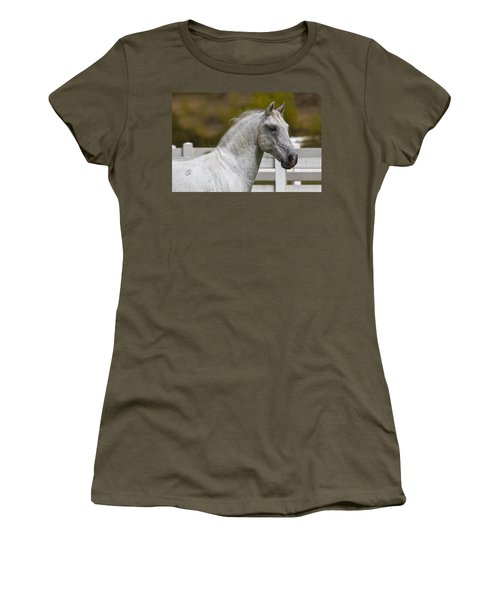 Women's T-Shirt (Junior Cut) featuring the photograph Conversano Mima D2724 by Wes and Dotty Weber