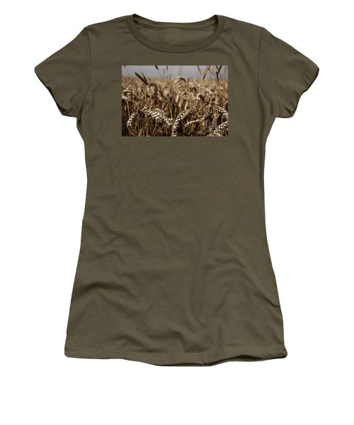 Corn Field Women's T-Shirt (Junior Cut) by Vicki Spindler