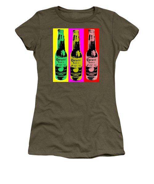 Corona Beer Women's T-Shirt (Junior Cut) by Jean luc Comperat