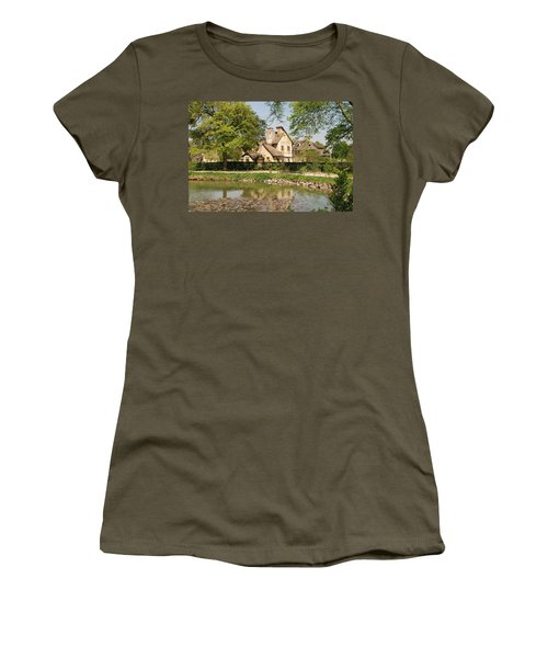 Cottage In The Hameau De La Reine Women's T-Shirt